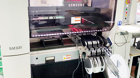 Samsung High Speed SMT Machine
